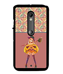 Fuson 2D Printed Girly Designer back case cover for Motorola Moto X Style - D4265