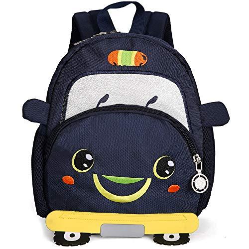 Loozykit Kindergarten Kinder Rucksack Wasserdicht Mini Schultasche Kleinkind Rucksack Cartoon Animal Schule Tasche für Baby Mädchen Junge 21 * 11 * 25 Baby-jungen-tasche
