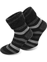 3 Paar Thermo-Vollplüsch-Socken mit angerauter Innenfläche von Polar Husky®