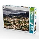 Ouro Preto - Minas Gerais 1000 Teile Puzzle quer: Brasilien abseits von Rio (CALVENDO Orte)