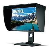 BenQ SW271 68,58 cm (27 Zoll) Monitor (LED, 4K UHD, 3840 X 2160 Pixel, 99% Adobe RGB, 93% DCI-P3, 14 bit 3D LUT, HDR10) schwarz