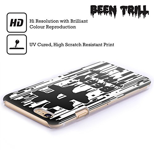 Official Been Trill Japanese Mask Glitch Hard Back Case for Apple iPhone X Pixel Drip