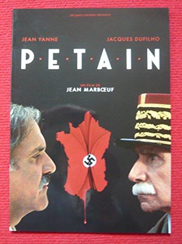Dossier de presse de Pétain (1993) de Jean Marbœuf