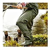 STIEFEL WATHOSE ROBUST Anglerhose Teichhose Watthose M L XL XXL wasserdicht ~mp 222 0651 (XL 44/45)