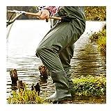 Stiefel Wathose Robust Anglerhose Teichhose Watthose M L XL XXL Wasserdicht ~MP 222 0651 (L 42/43)