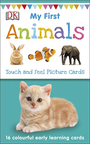 My First Animals (My First Touch and Feel Picture Cards)