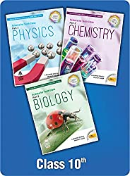 Combo Pack: Lakhmir Singh Class 10 Science (Biology, Physics, Chemistry) with Free Virtual Reality Gear (2021-