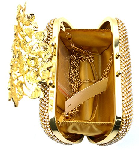 Elezay, Poschette giorno donna golden