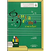Pentagrama Escolar Música 6: Educación Primaria. Ciclo Superior