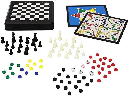 Juego JU01001 - Travel Game 9 in 1, juego de viaje y de bolsillo infantil, magnético