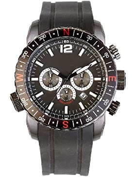 Semptec Urban Survival Technology nc7356–944–Armbanduhr, Armband Silikon Farbe schwarz