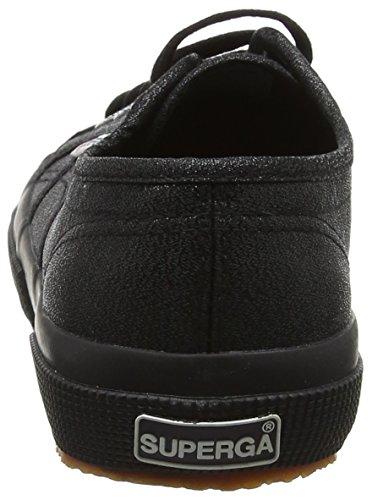 Superga 2750 Lamew, Sneaker Donna Black (Full Black)