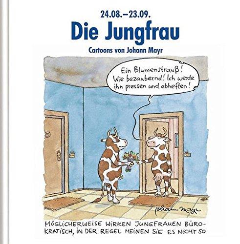 Die Jungfrau: Witziges Cartoon-Geschenkbuch
