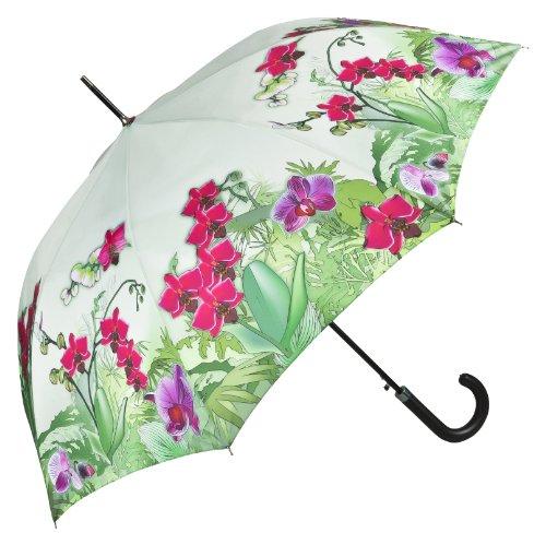 stockschirm-damen-motiv-orchideen