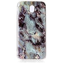 Galaxy J7 2017 Case, Samsung Galaxy J7 2017 Marble Case, BONROY® TPU Soft Slim-Fit Ultra-Thin Case Bumper Anti-Scratch Shock Proof Rubber Silicone Skin Cover for Samsung Galaxy J7 2017 J730 (EU Model)