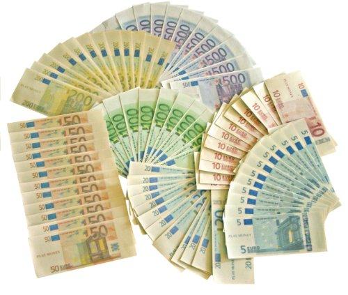 Set de monedas y billetes Euro