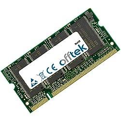 1Go RAM Memory 200 Pin SoDimm - 2.5V - DDR - PC2100 (266Mhz) - Non-ECC - OFFTEK