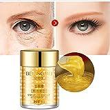 Goldenes Augengel/Augencreme für trockene Augen und übernächtigte Augen gegen...