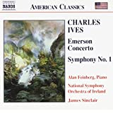 Ives - Symphony No 1; Emerson Concerto