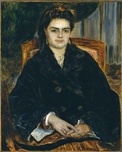 Das Museum Outlet-Madame Marie Octavie Bernier, 1871, gespannte Leinwand Galerie verpackt. 40,6x 50,8cm -