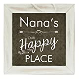 The Grandparent Gift Nana Frame Happy Place Grandparent Sign