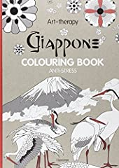 Idea Regalo - Art therapy. Giappone. Colouring book anti-stress [Lingua inglese]