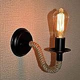 xluckx Lampe Murale,Appliques Murales Industriel Couloir De Lumière Créative Mur LED Lampes Chambre Lampes Éclairage Décor (Ampoules Non Comprises)