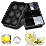 solawill Eiswürfelform Eiswürfel Silikonformen Eiswürfelbehälter Ice Ball Kugelförmige und Würfelförmige