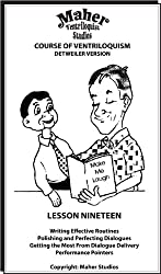 Maher Course Of Ventriloquism - Lesson Nineteen: Detweiler Version