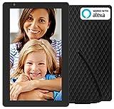 NIXPLAY Seed WLAN Digitaler Bilderrahmen 10 Zoll Breitbild W10B. Fotos & Videos per App oder Email an den Elektronischen Fotorahmen �bertragen. IPS Display. Auto On/Off Funktion (Hu-Motion Sensor) Bild