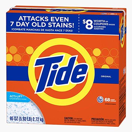 Tide He Original Scent Powder Laundry Detergent 68 Loads 95 Oz by Tide