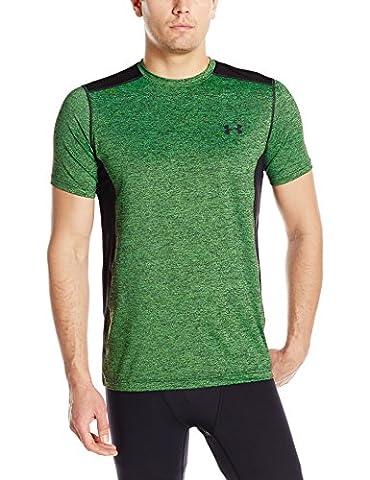 Under Armour Mens Raid Heatgear Wicking Short Sleeve Active T Shirt