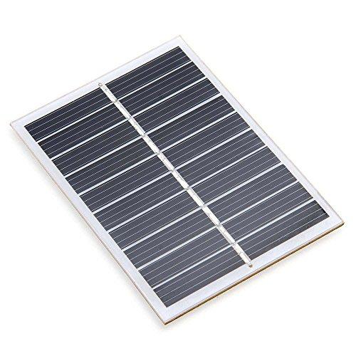 Zimo® 5V 160mA 0.8W Mini DIY Solar Panel Ladegerät Solarmodul Solarzelle zur Aufladung 2 Stück