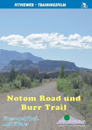 Notom Road and Burr Trail - FitViewer Indoor Video Cycling USA