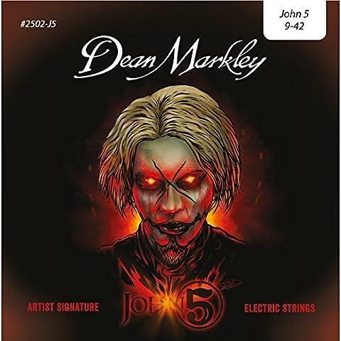 DEAN MARKLEY 312633 2502-J5 LT 9-42 John 5 Signature Gitarre Zubehör