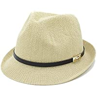 2018 Sombrero del sol, Verano Mujeres Hombres Sombrero del sol para caballero Carta Dad Boater Fedora Sombreros Dad Flat Homburg Beach Hat Panama Cap