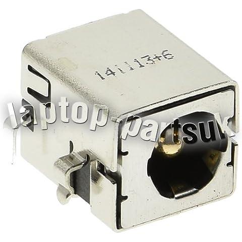ASUS N75, N75E, N75F, N75S, N75SF, N75SL, P43, P43E, P43SJ, P53, P53E, P53SJ U2, U2E, U30, U30J, U30JC, U30SD, u37 Vc DC Jack per presa, Porta di alimentazione e connettore