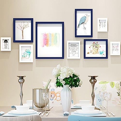 Paintsh dekorative Malerei Wohnzimmer Schlafzimmer frische kleine Gemälde moderne Sofa Tv Hintergrund Wand Speisesaal Nordic-Style Wandbilder, die Rechnungslegung für den Bereich Wand von About: 140 * 63 Cm, Kaufen schöne Wand Aufkleber Senden, [Serie] Weiß Blau + Frisch und Elegant,