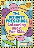 #2: The Ultimate Preschool Colouring Book for Kids: Add Colour Discover Learning, 100 Colouring Pages with Free Activity Poster and Colourful Sticker Set