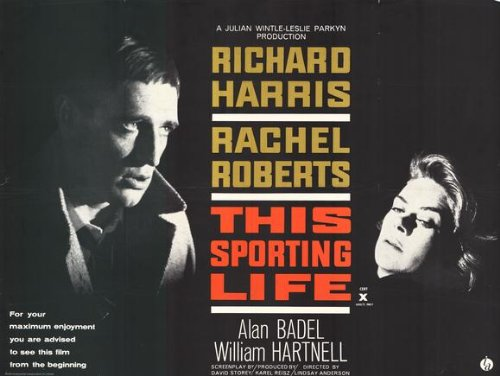Sporting Life Richard Harris (This Sporting Life Plakat Movie Poster (11 x 14 Inches - 28cm x 36cm) (1963) B)