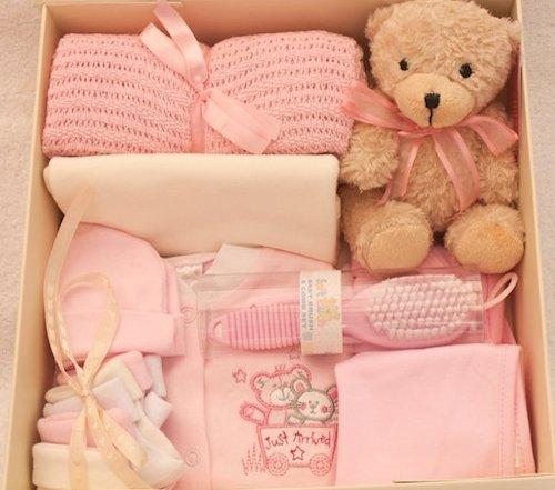 New Baby Babyausstattung Andenken-Geschenkset