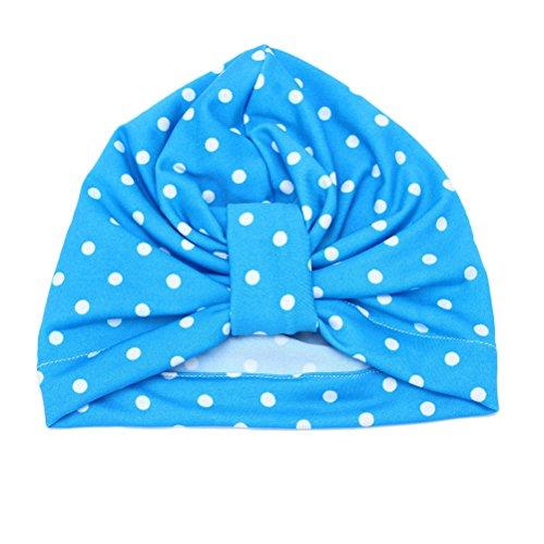 Zhhlaixing Fashion Unisex Baby Cute Dots Hat Kids Infant Toddler Cotton Beanie Cap