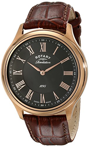 Rotary Men's Watch XL Analogue Quartz Revelation Leather GS02967 / 06 / 10