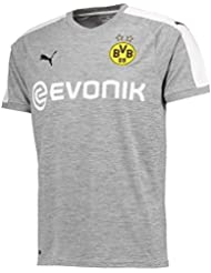 Puma Herren Bvb 3rd Replica Shirt with Sponsor Logo T-Shirt