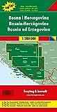 Freytag Berndt Autokarten, Bosnien-Herzegowina, Top 10 Tips, Autokarte 1:200 - 000 (freytag & berndt Auto + Freizeitkarten) - Freytag-Berndt und Artaria KG