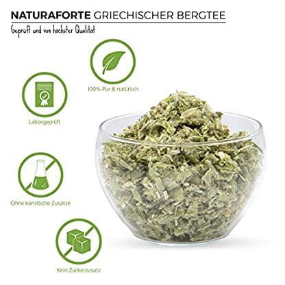 NaturaForte-Griechischer-Bergtee-geschnitten-200g-Premium-Qualitt-Sideritis-Scardica-Ironwort-Tee-Kruter-Eisenkraut-Hirte-griechisch-Tee-100-Natrlich-ohne-Zustze-Getrocknet-Laborgeprft