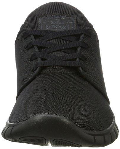 Nike Herren Stefan Janoski Max Sneaker, Orange, 47.5 EU Schwarz (Black/White)