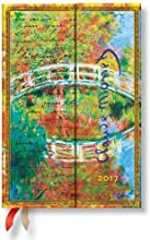 Paperblanks Calendario Monet (el Puente) Mini 2017Verso deutschsprachige salida