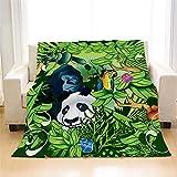 Comeyang Sin Diferencia de Color, Adecuado para Adultos y niños Mantas, Diferentes tamaños y Colores,Manta de Franela Simple Manta Color 10 80 * 120 cm