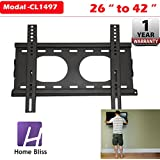 Home Bliss Premium Universal 22 To 42 Inches LED LCD TV Wall Mount Stand